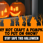 Why not craft a pumpkin to put on show?