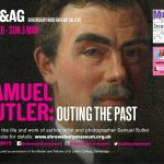 An image of Samuel Butler who is the feature on a LGBT exhibition at Shrewsbury Museum and Art Gallery