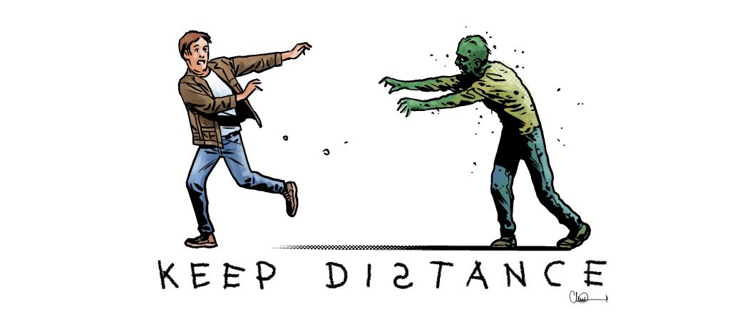 Coronavirus: The Walking Dead artist Charlie Adlard joins ...