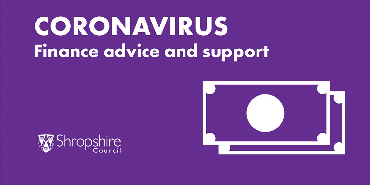 Coronavirus: Finance advice and support