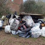 Litter collected in Ludlow