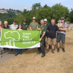 Severn Valley Country Park recieves a Green Flag Award for 2018.