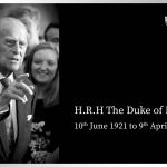 HRH The Duke of Edinburgh 10/6/1921-9/4/2021
