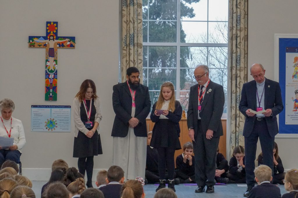 Holocaust - Assembly at St Peter's