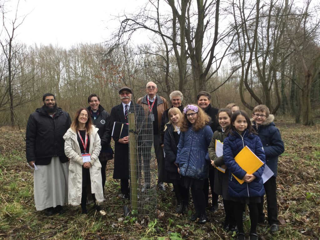 Holocaust - Group Picture Mereside HMD Tree
