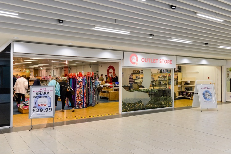 The QVC store in the Darwin Shopping Centre