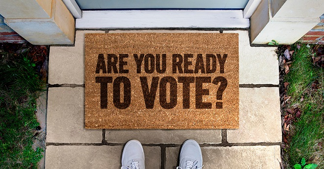 Don't lose your vote – look out for your voter registration details in the post