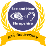 Logo for See and Hear event 2017 - 10th anniversary