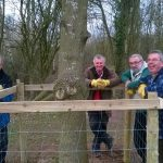 volunteers in action at Severn Valley Country Park