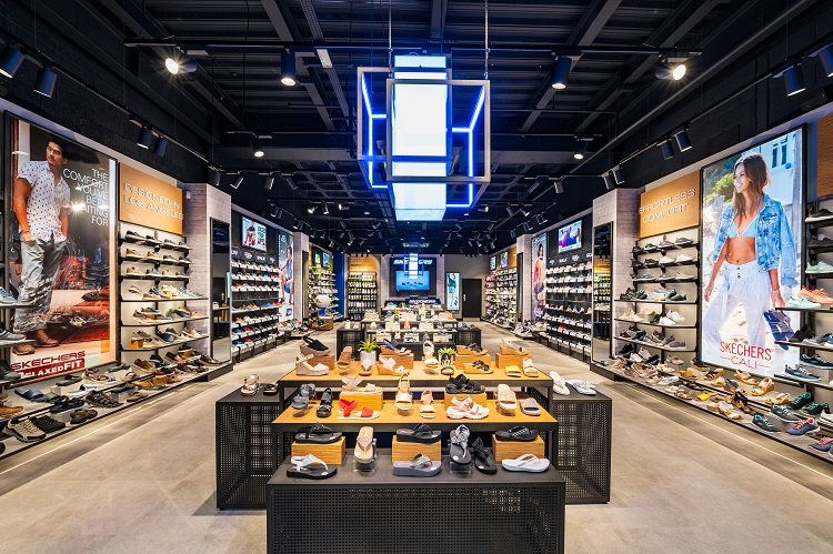 How the new Skechers store will look
