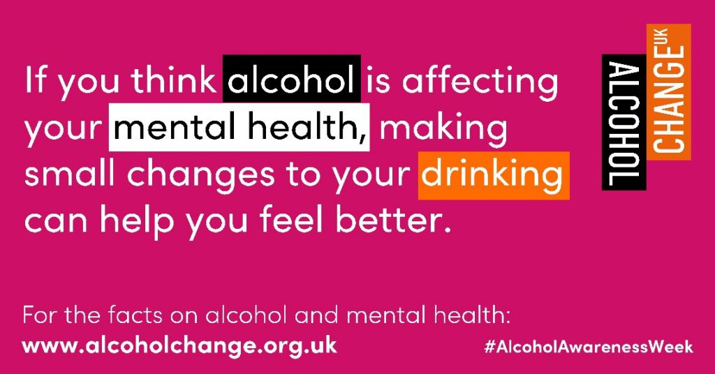 Alcohol Awareness Week graphic