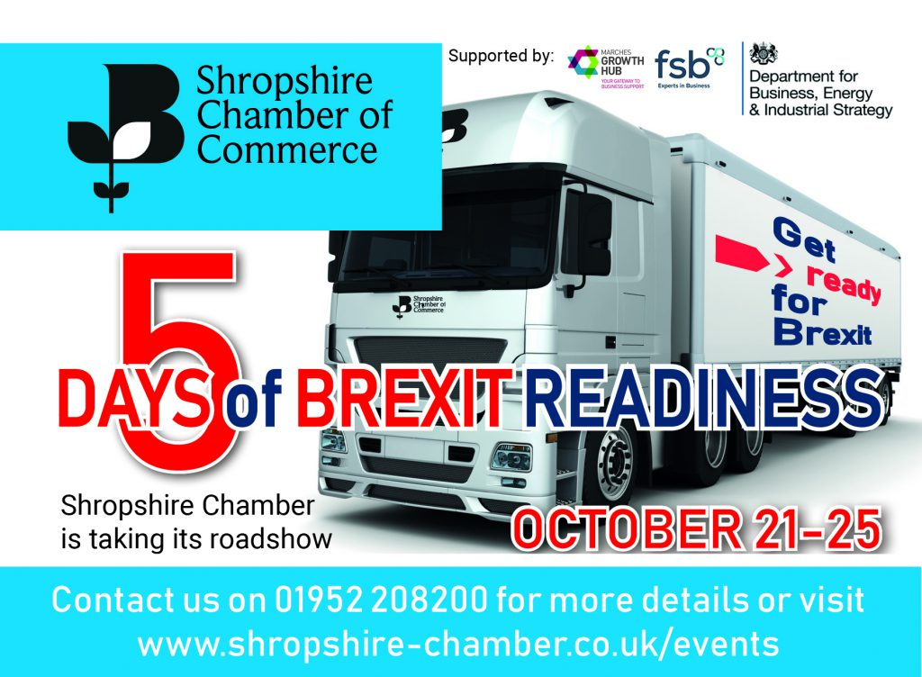 5 Days of Brexit Readiness - Shropshire Chamber of Commerce