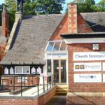 Church Stretton Library building