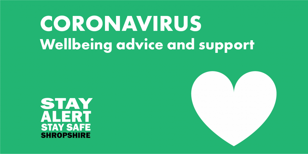 Coronavirus: Wellbeing advice and support