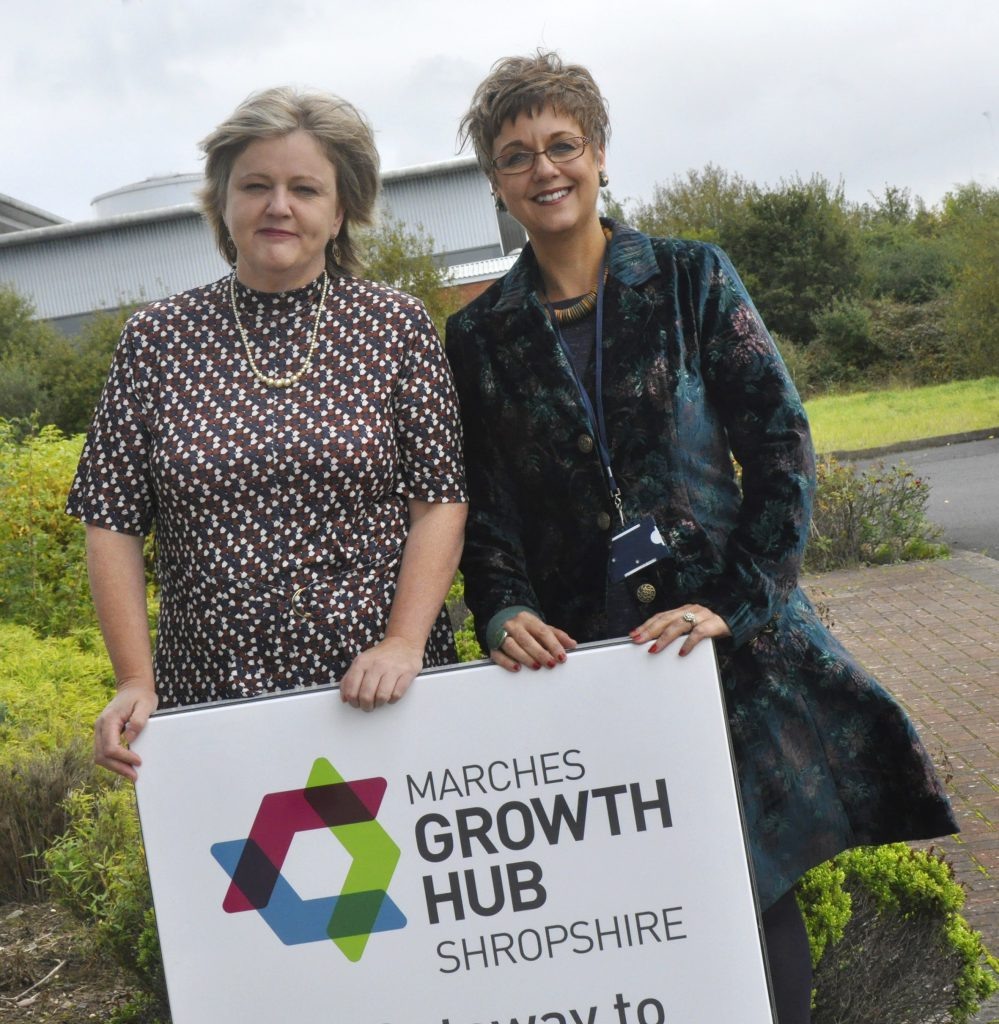 Marches Growth Hub new office space launch