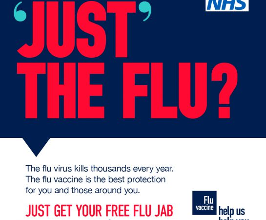 It's never too early to think about getting the flu jab