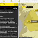 Met office warning for Shrewsbury