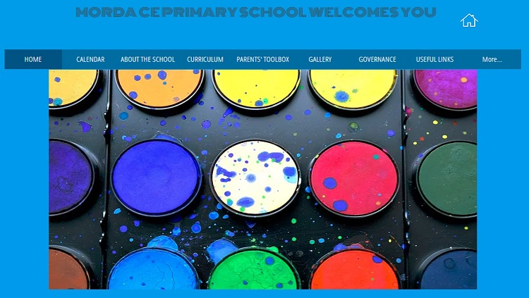 Morda CE Primary School website homepage