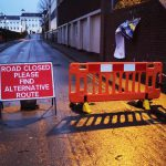 Road closure outside Quarry Swimming and Fitness Centre