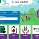The SEND local offer website