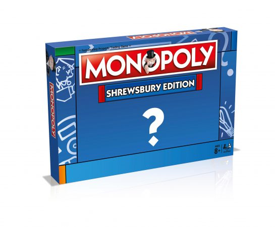 Shrewsbury Monopoly box