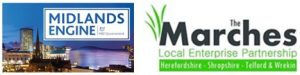 midlands engine and marches lep logos