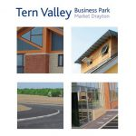 The front cover of a Tern Valley Business Park promotional brochure