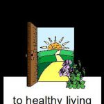 Through the Doorway to healthy living logo