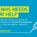 The COVID-19 Vaccination Service is recruiting - advert