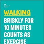 One You walking campaign poster