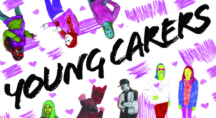 Young carers leaflet design